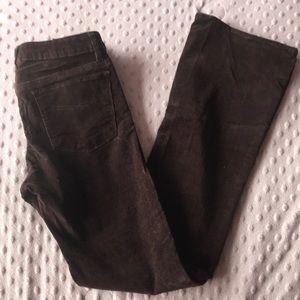 Gapkids girls brown cordrouy Bootcut Jeans Sz 12